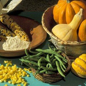 Corn, beans, and squash