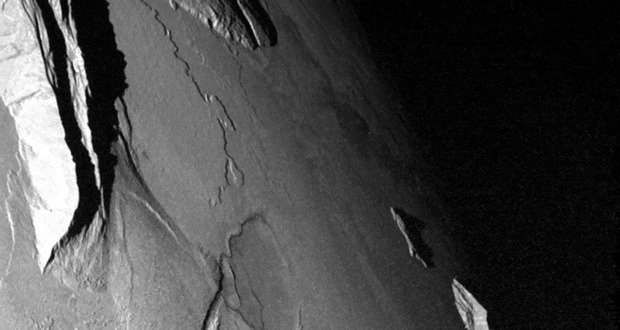 Ionian Mons East Ridge